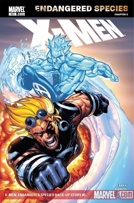 X-Men: Endangered Species Back-Up Story (2007) #5