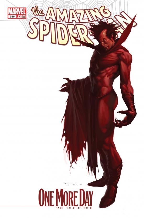 Amazing Spider-Man (1999) #545 (DJURDJEVIC VARIANT)