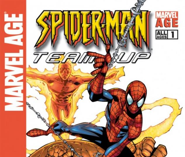 MARVEL AGE SPIDER-MAN TEAM-UP (1993) #1 COVER