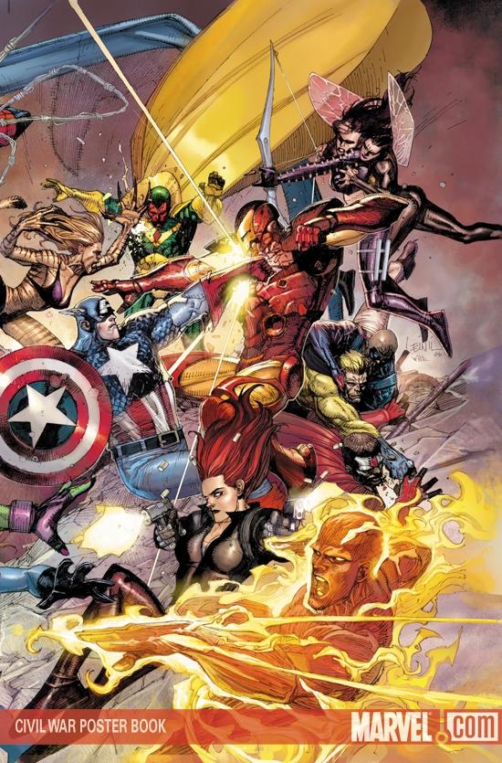 Civil War Poster Book (2007)