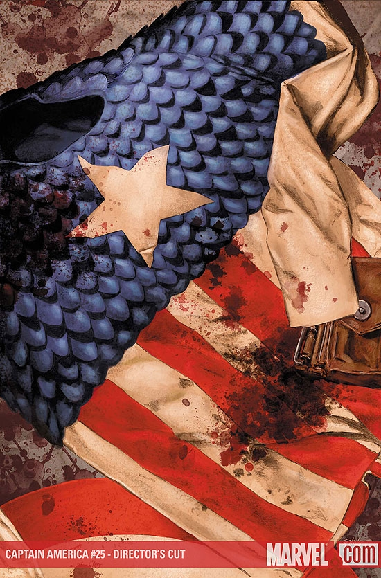 Captain America (2004) #25 (Director's Cut)