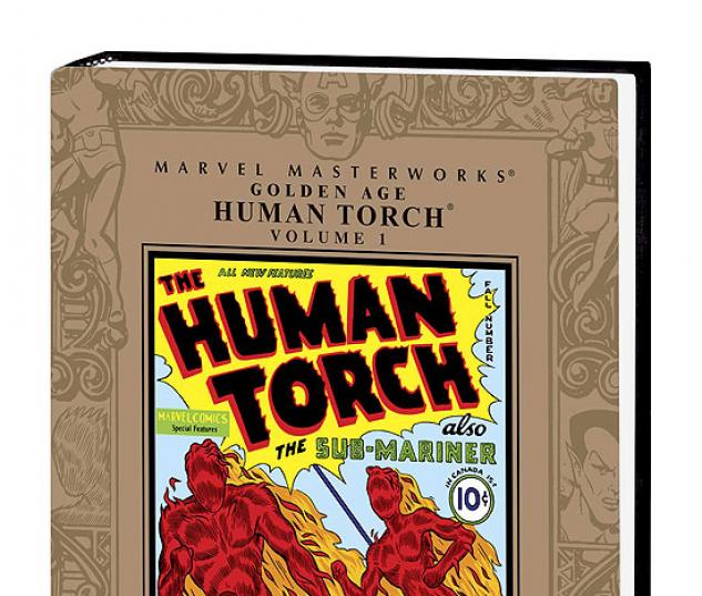 MARVEL MASTERWORKS: GOLDEN AGE HUMAN TORCH VOL.1 #0