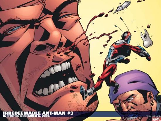 Irredeemable Ant-Man (2006) #3 Wallpaper