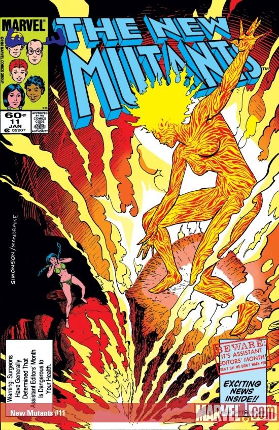 New Mutants (1983) #11