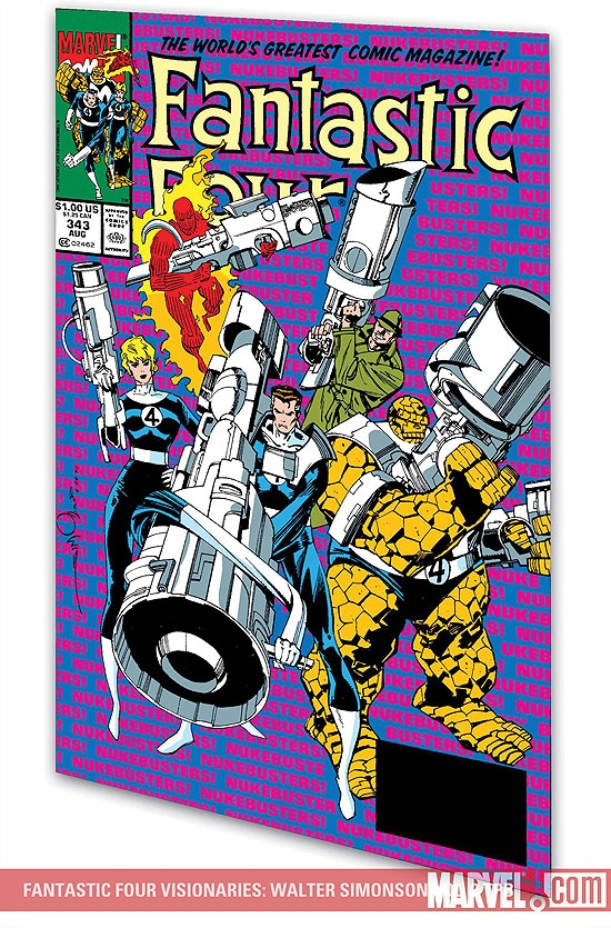 FANTASTIC FOUR VISIONARIES: WALTER SIMONSON VOL. 2 TPB (Trade Paperback)