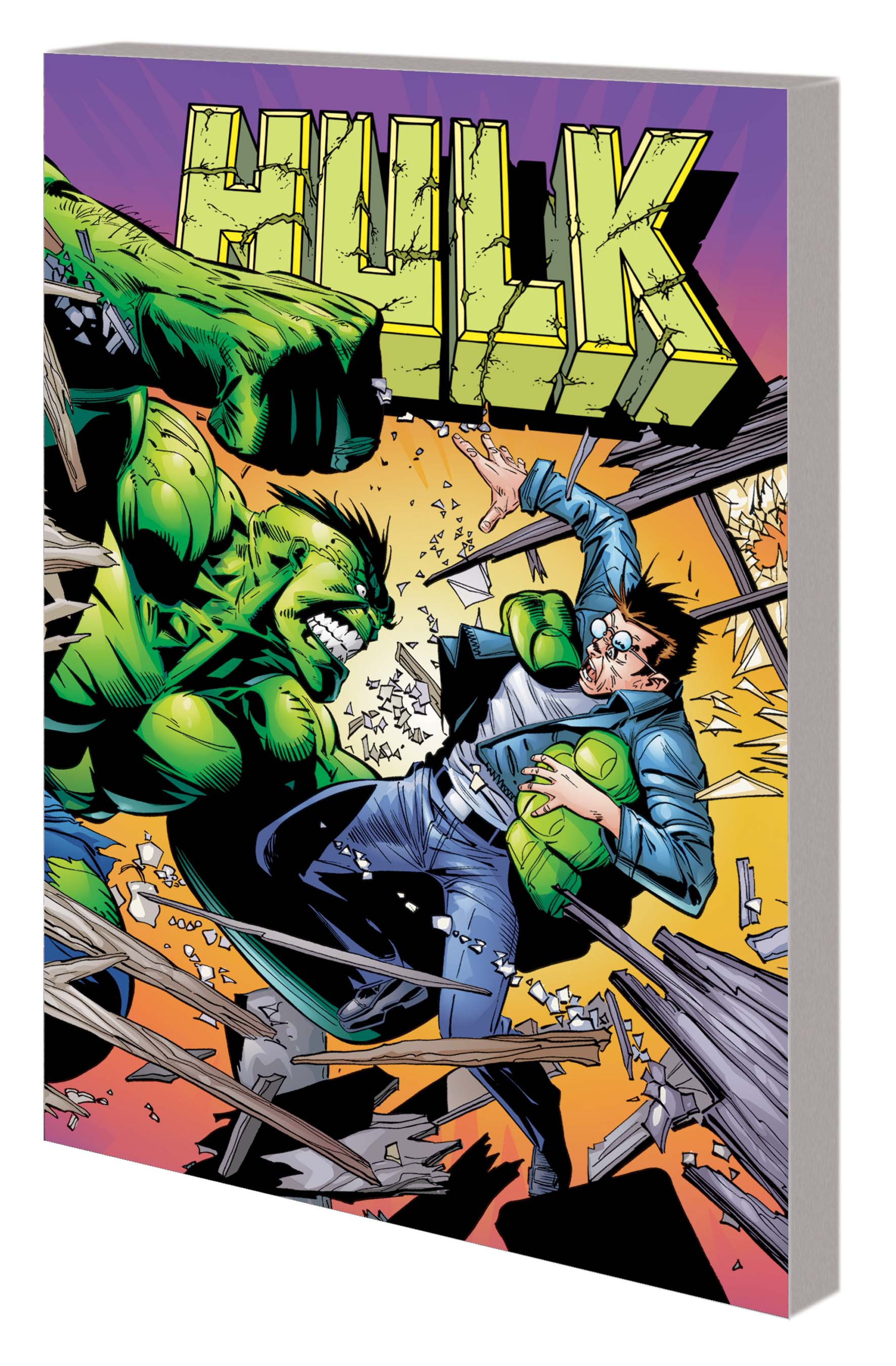 Hulk by John Byrne & Ron Garney (Trade Paperback)