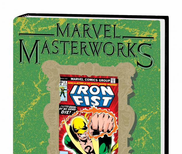 MARVEL MASTERWORKS: IRON FIST VOL. 2 HC VARIANT (DM ONLY)