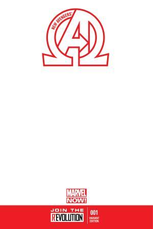2013 New Avengers #1 Blank Variant