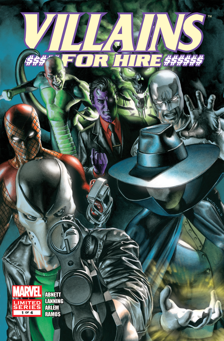 Villains for Hire (2011) #1