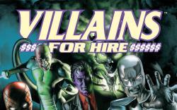 Villains For Hire (2011) #1