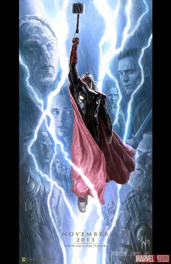 Thor: The Dark World concept art by Charlie Wen