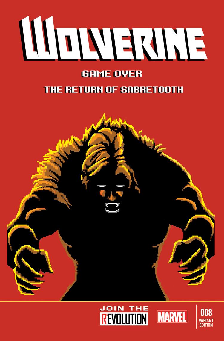 Wolverine (2013) #8 (Waite 8-Bit Variant)