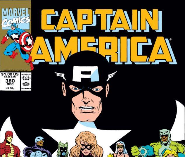 Captain America (1968) #380 Cover
