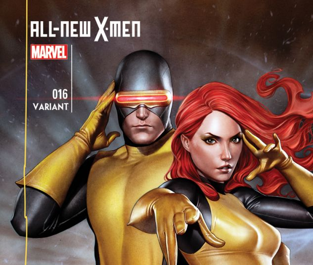 ALL-NEW X-MEN 16 GRANOV VARIANT (WITH DIGITAL CODE)