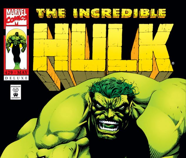 Incredible Hulk (1962) #429 Cover