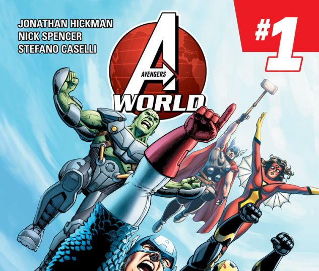AVENGERS WORLD 1 (ANMN, WITH DIGITAL CODE)