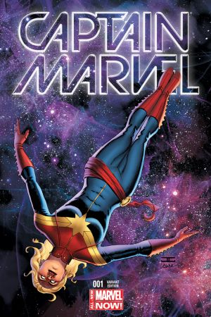 Captain Marvel (2014) #1 (Cassaday Variant)
