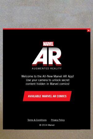 The Marvel AR app