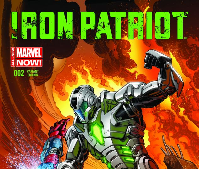 Iron Patriot (2014) #2 (Bennett Variant) | Comics | Marvel com