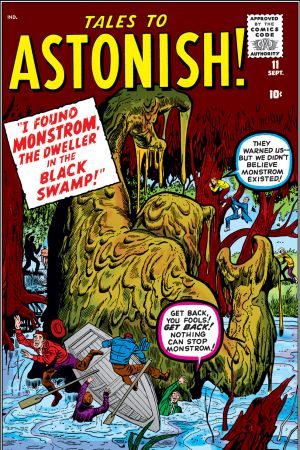 Tales to Astonish #11