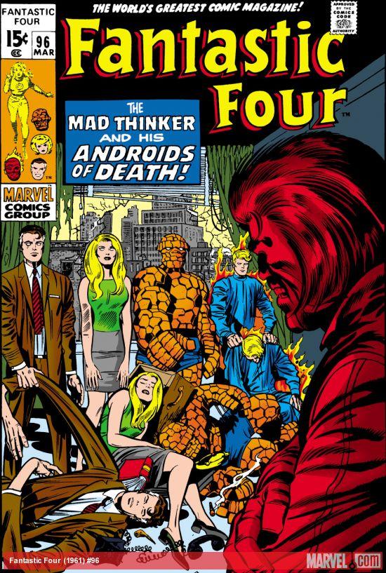 Fantastic Four (1961) #96