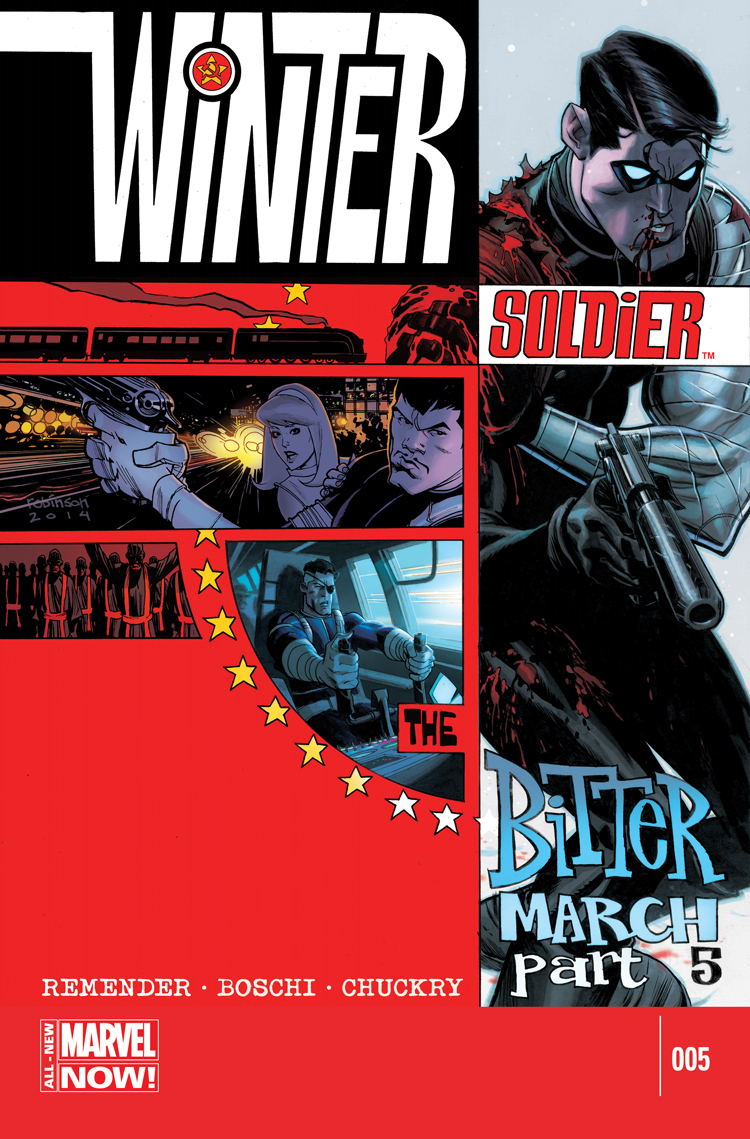 Winter Soldier: The Bitter March (2014) #5