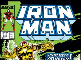 Iron Man (1968) #218 Cover