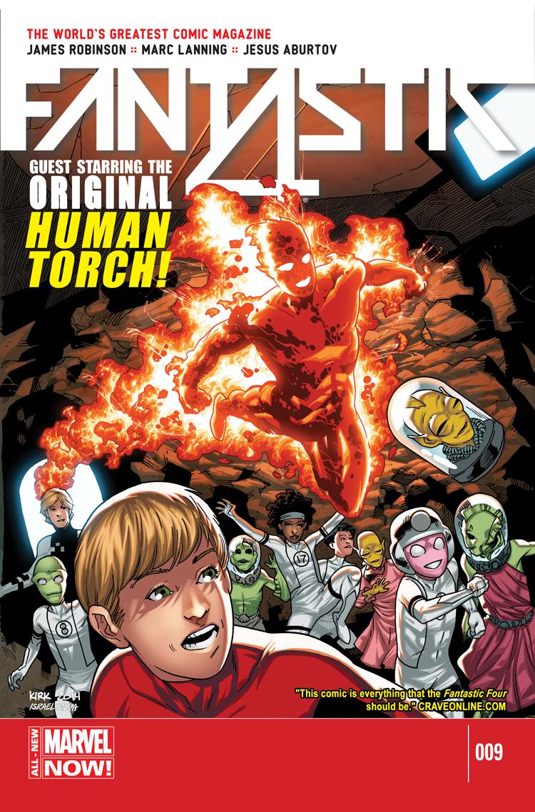 Fantastic Four (2014) #9