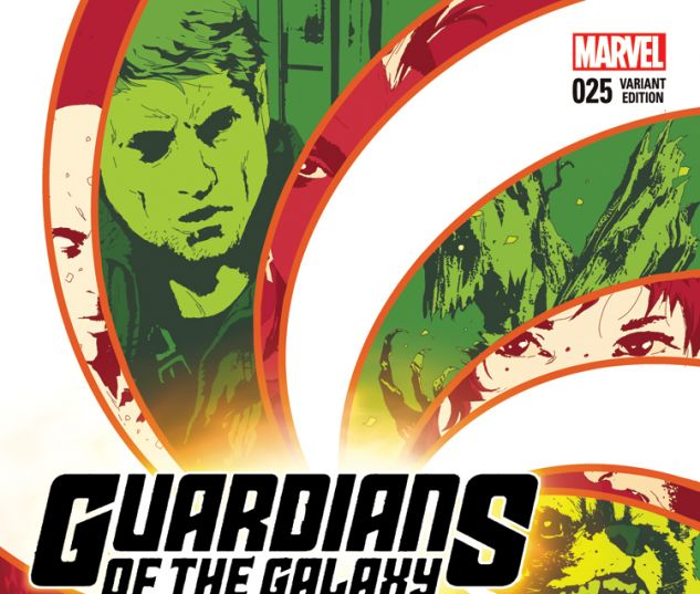 GUARDIANS OF THE GALAXY 25 SORRENTINO VARIANT (BV, WITH DIGITAL CODE)