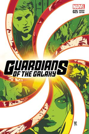 Guardians of the Galaxy (2013) #25 (Sorrentino Variant)