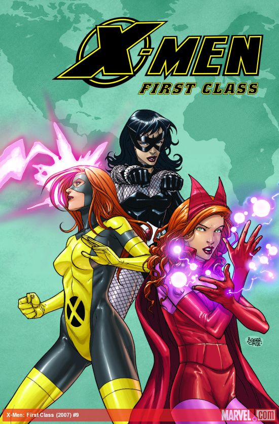 X-Men: First Class (2007) #9