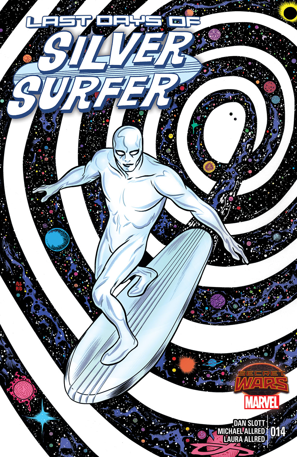 Silver Surfer (2014) #14