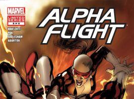 ALPHA FLIGHT (2011) #8 Cover