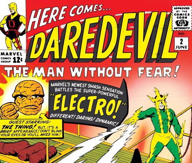 DAREDEVIL (1964) #2 Cover