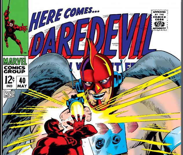 DAREDEVIL (1964) #40 Cover