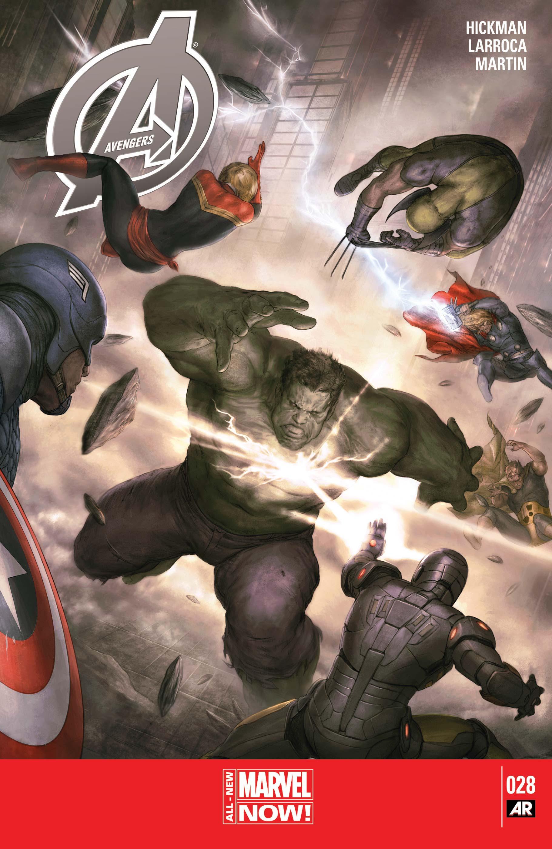 Avengers (2012) #28