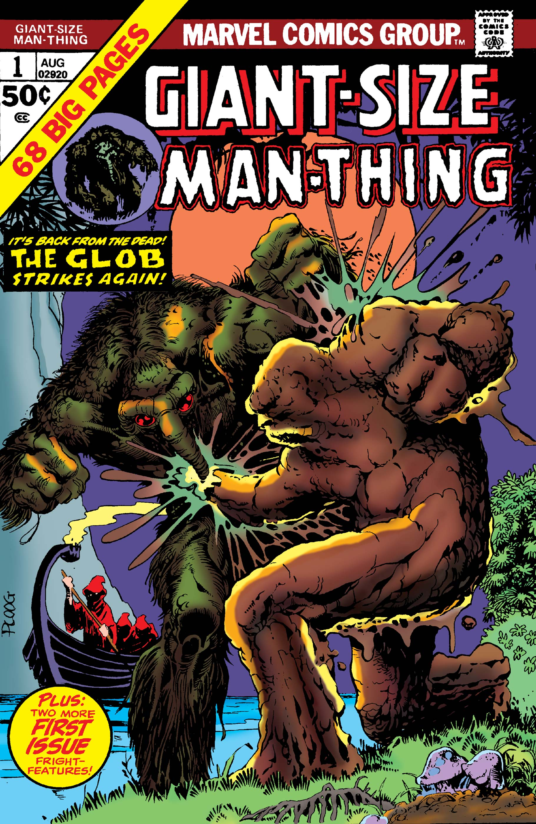 Giant-Size Man-Thing (1974) #1