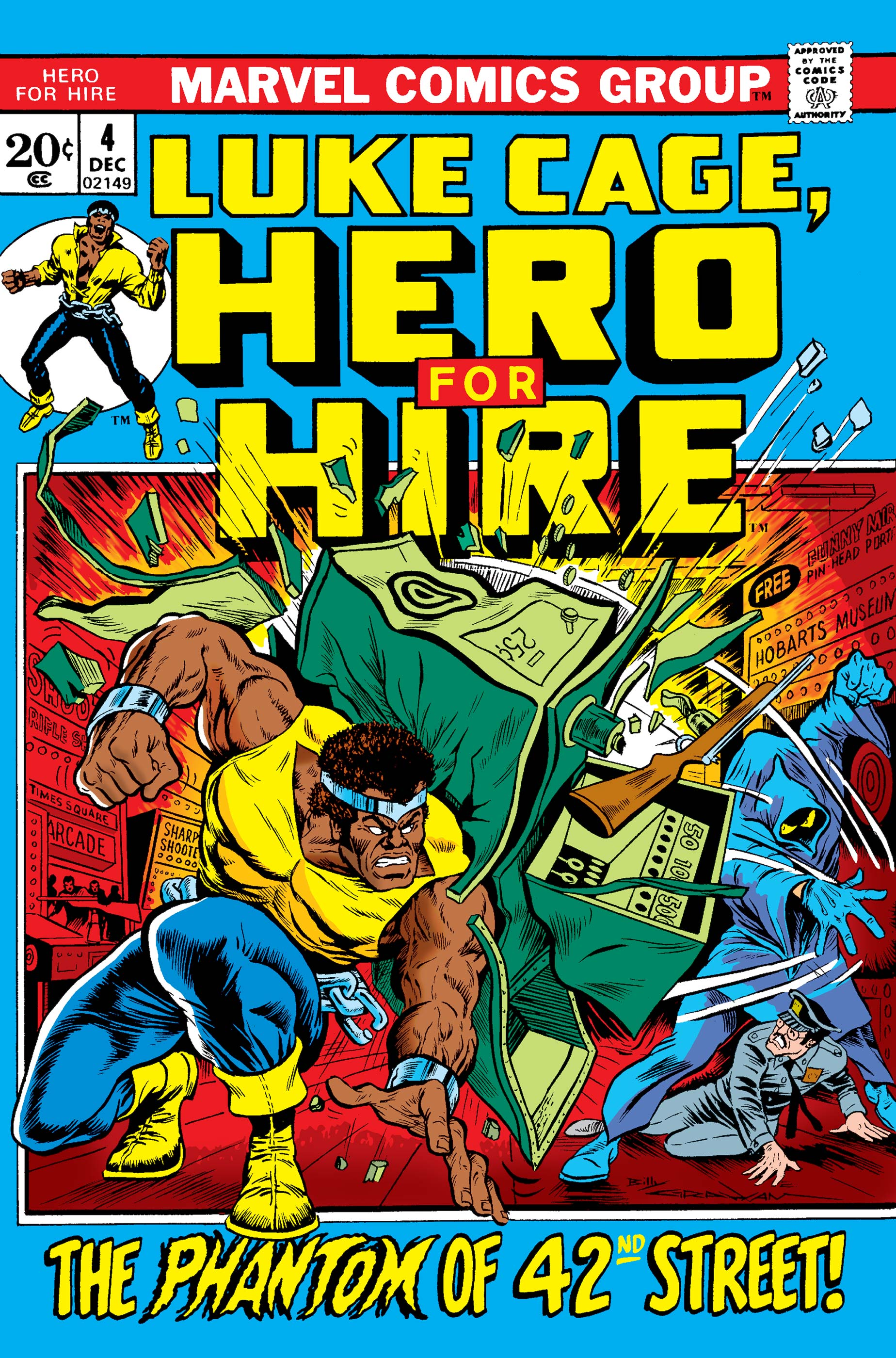 Luke Cage, Hero for Hire (1972) #4