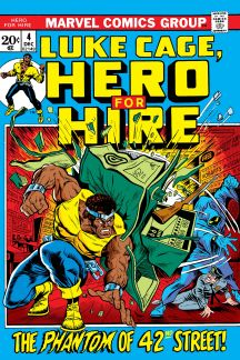 Luke Cage, Hero for Hire #4