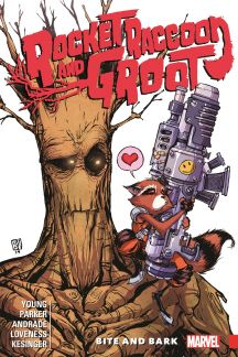 Image result for rocket raccoon & groot volume 0