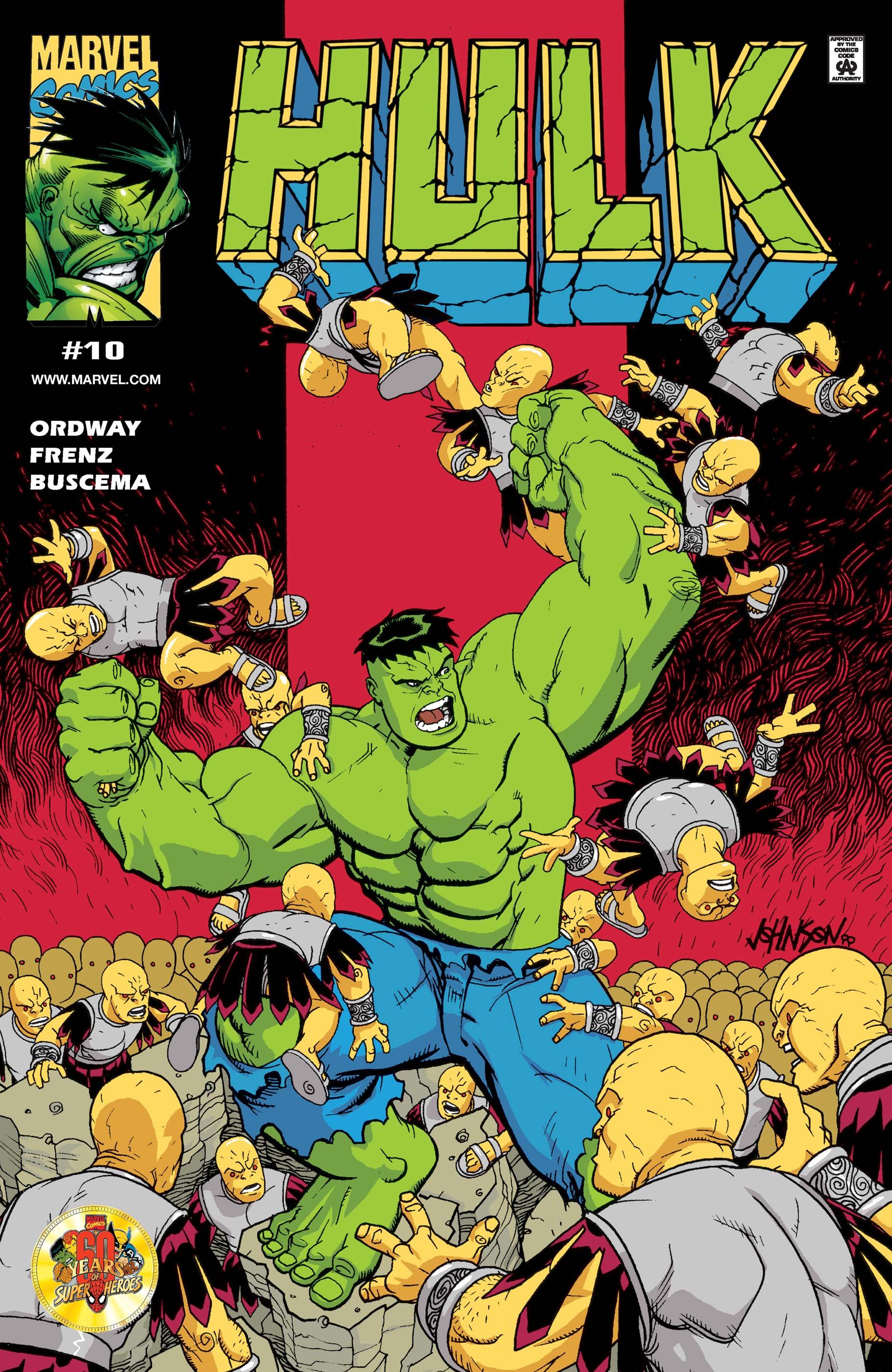 Incredible Hulk (1999) #10