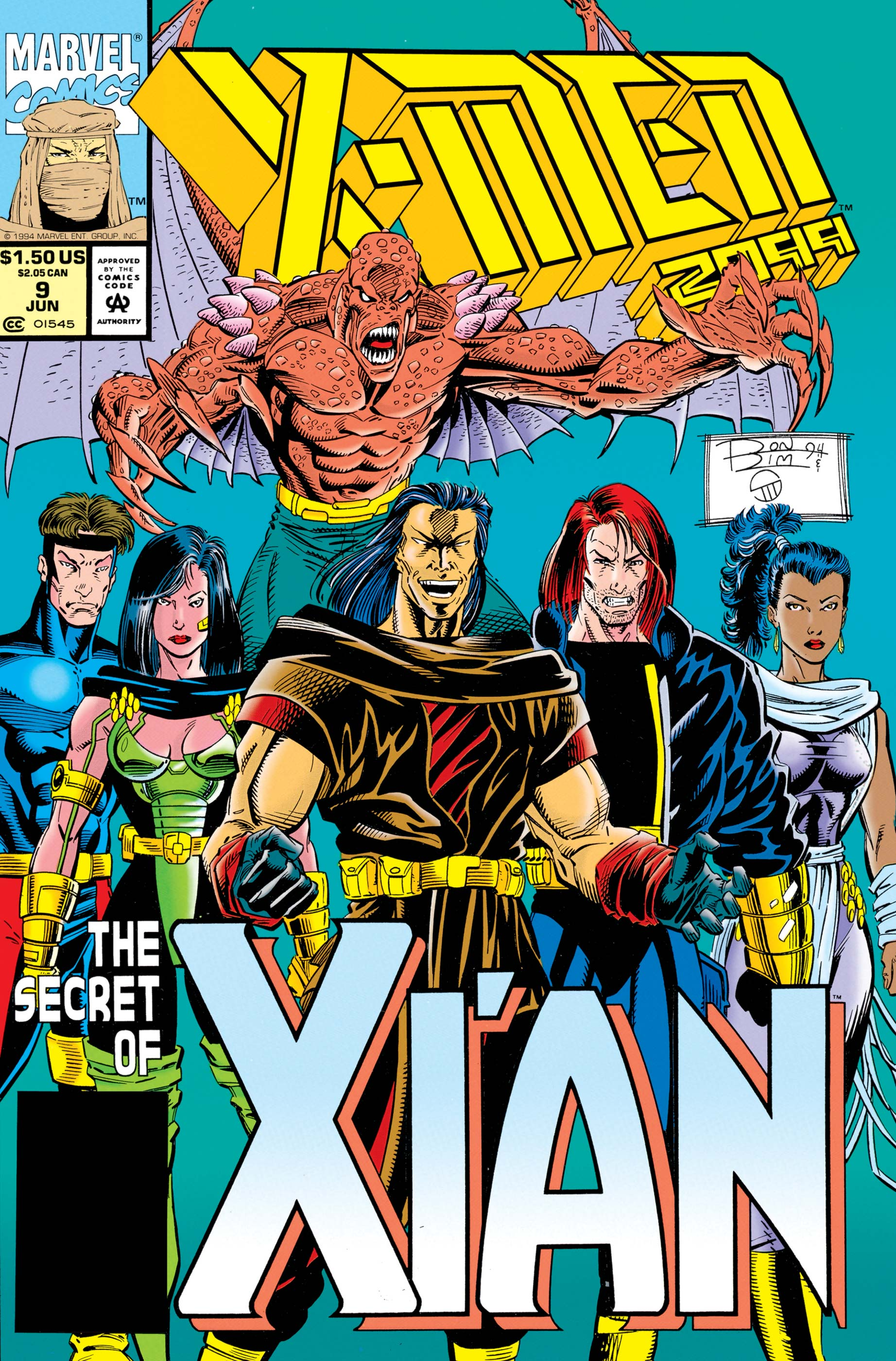 X-Men 2099 (1993) #9