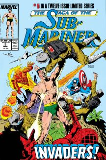 Saga of the Sub-Mariner (1988) #5