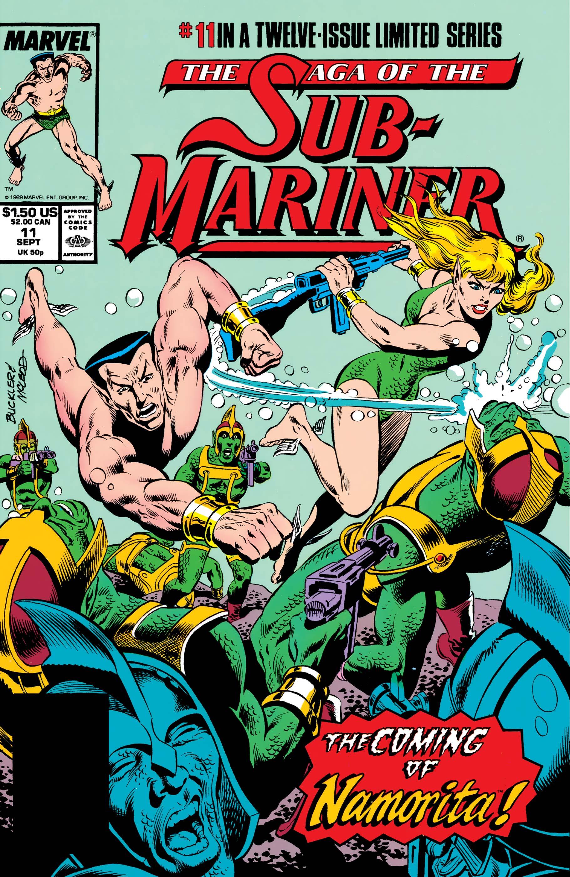Saga of the Sub-Mariner (1988) #11