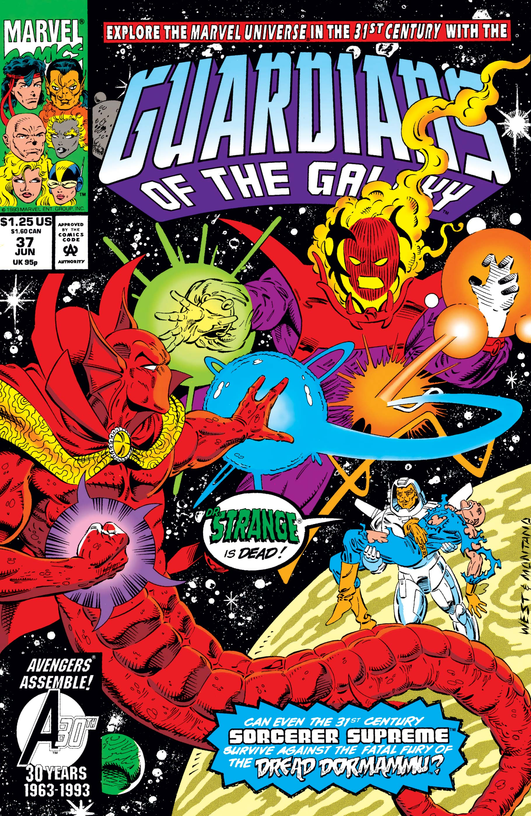 Guardians of the Galaxy (1990) #37