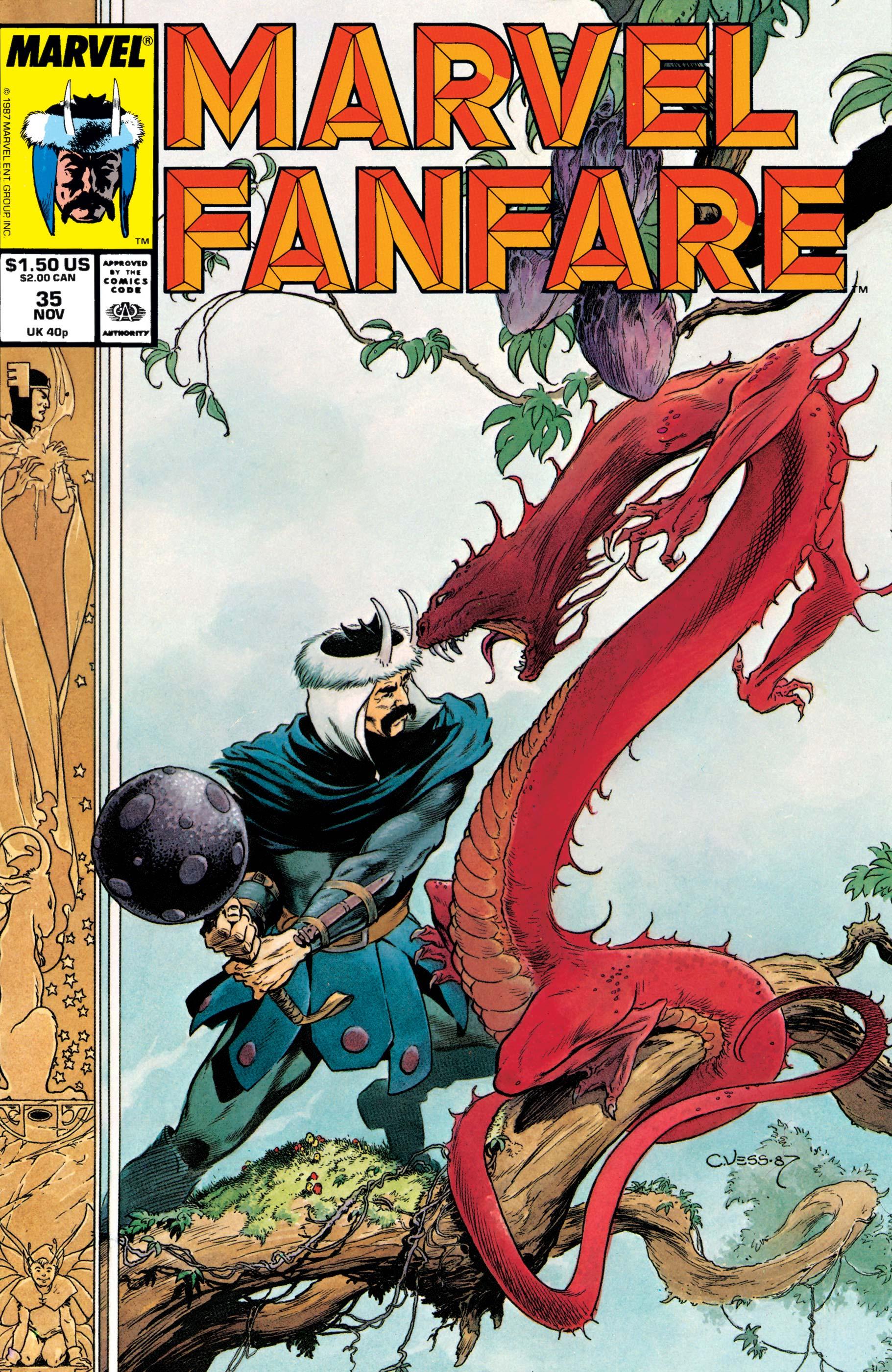 Marvel Fanfare (1982) #35