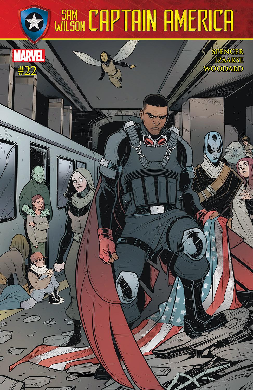 Captain America: Sam Wilson (2015) #22