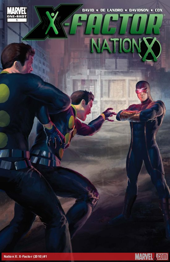 Nation X: X-Factor (2010) #1