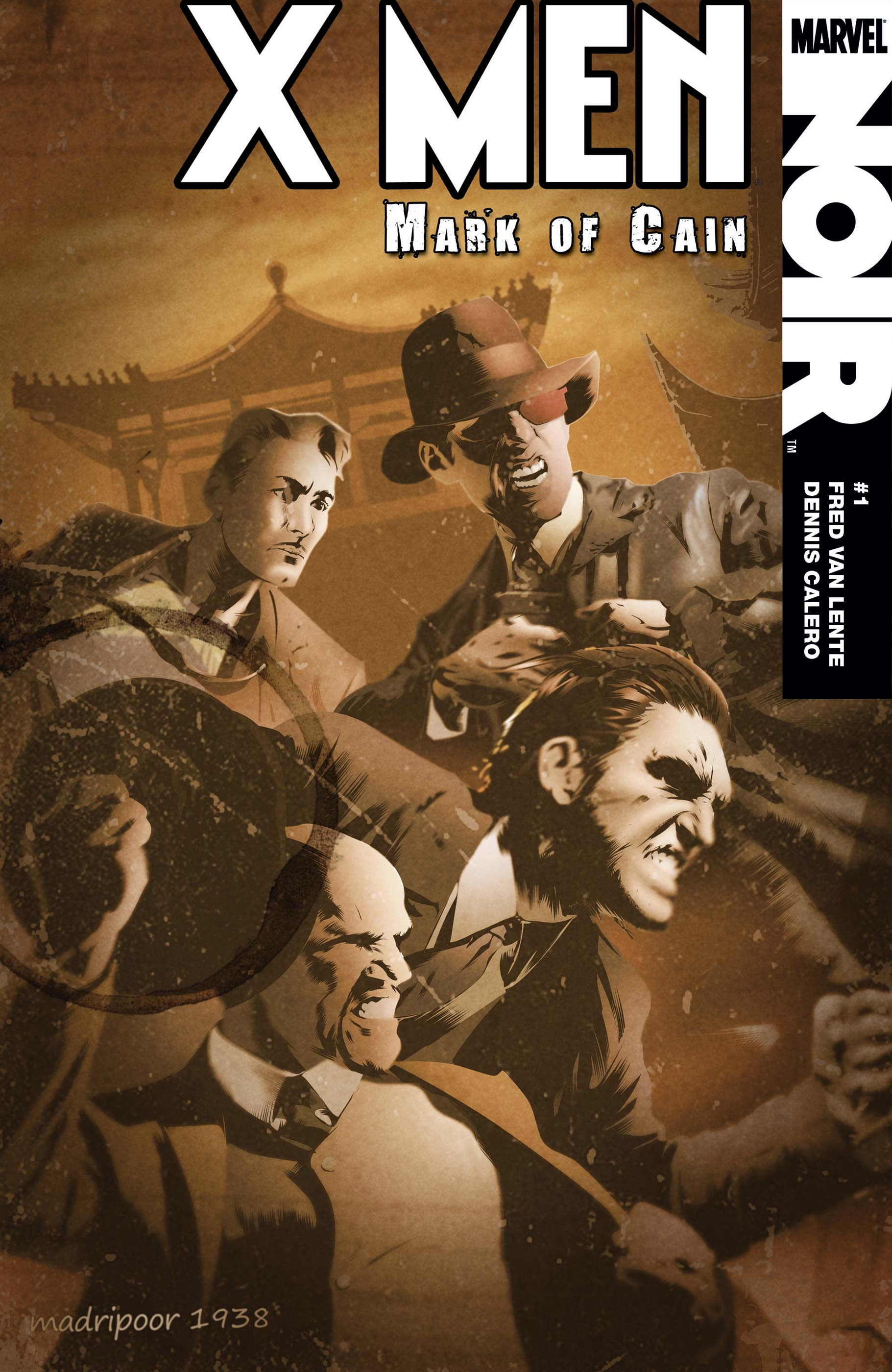X-Men Noir: Mark of Cain (2009) #1