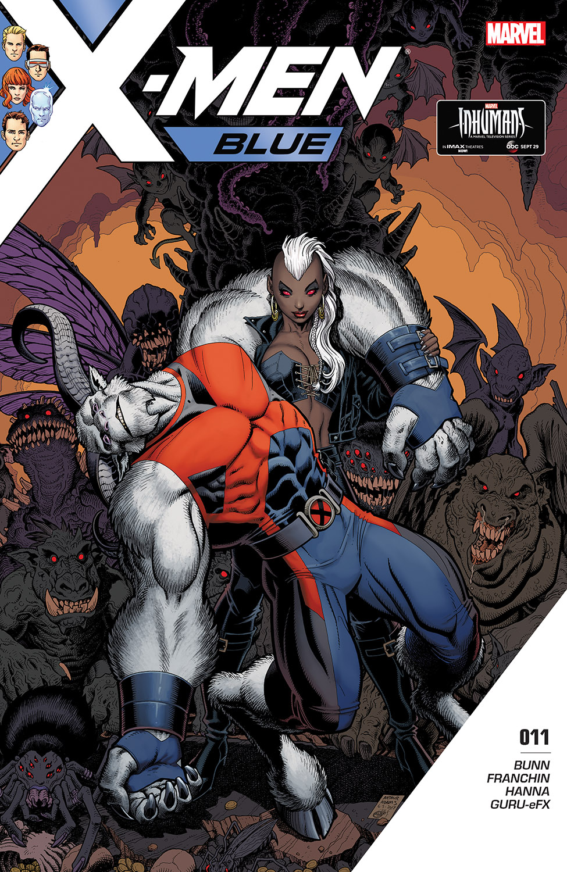 X-Men: Blue (2017) #11